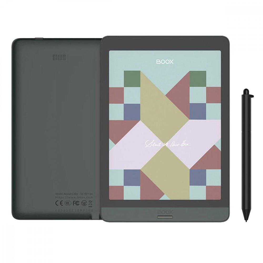 """Електронен четец BOOX Nova 3 Color 7.8"""" Black"""