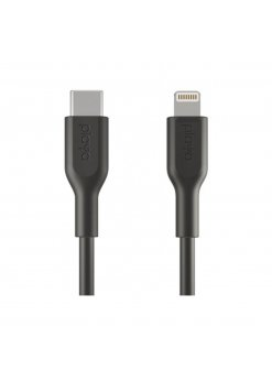 Кабел Belkin - Playa USB-C към Lightning Black -