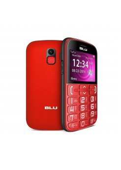 Blu Joy Dual Sim Red