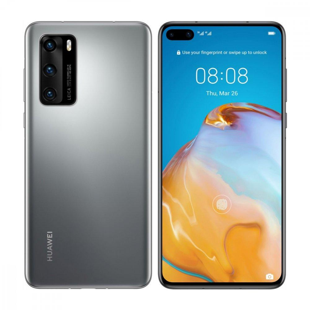 Huawei P40 128GB Dual Sim Silver Frost