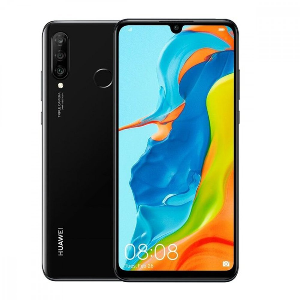Huawei P30 Lite New Edition 256GB Dual Sim Midnight Black