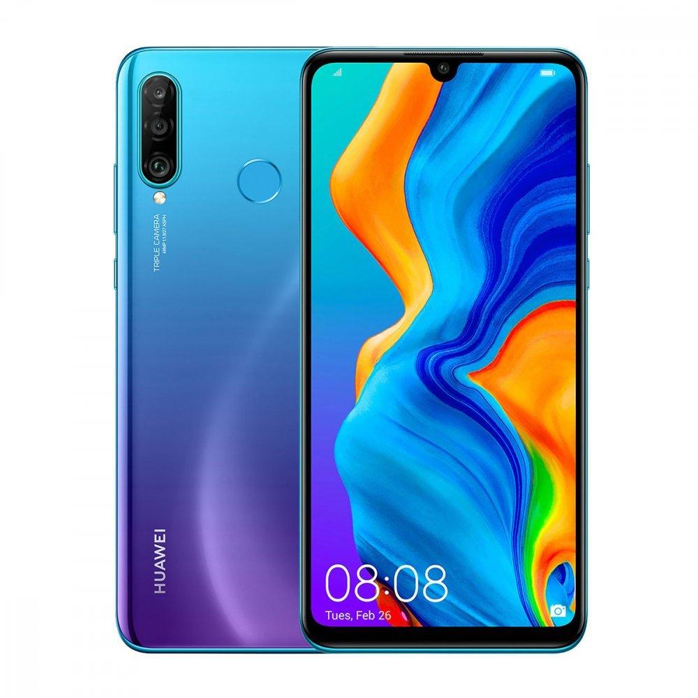 Huawei P30 Lite New Edition 256GB Dual Sim Peacock Blue