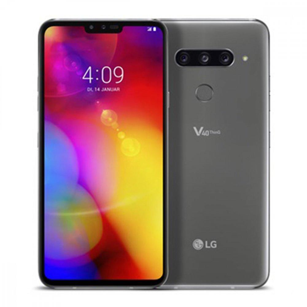 LG V40 ThinQ 128GB Dual Sim New Platinum Gray