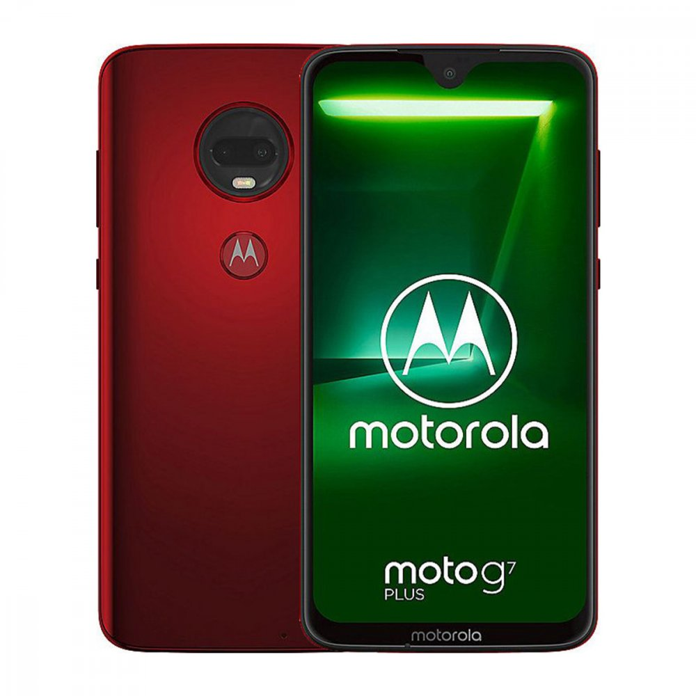 Motorola Moto G7 Plus 64GB Dual Sim Viva Red