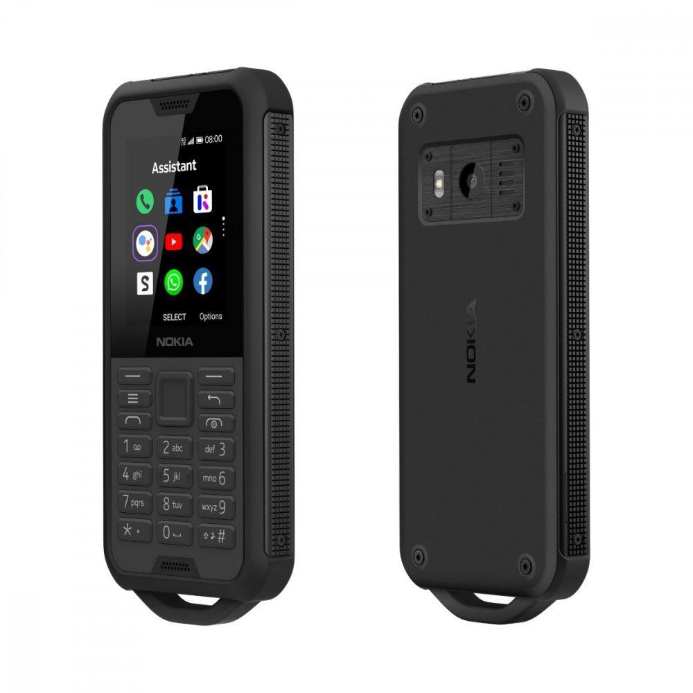 Nokia 800 Tough Black Steel