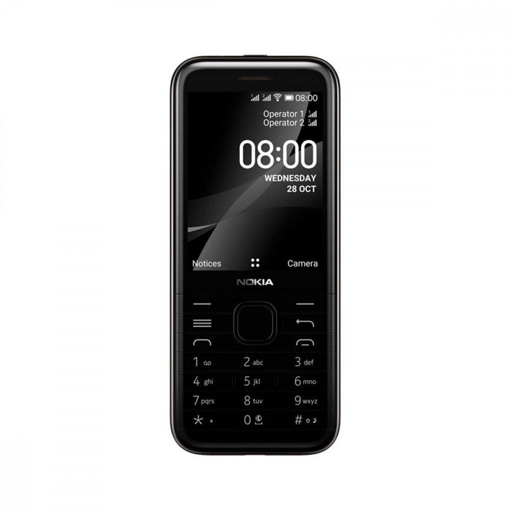 Nokia 8000 4G Dual Sim Onyx Black