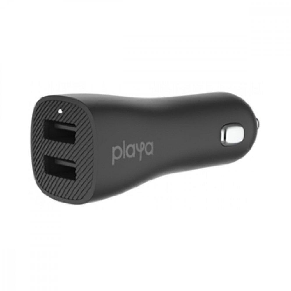 Зарядно устройство за кола Belkin - Playa 12W Black