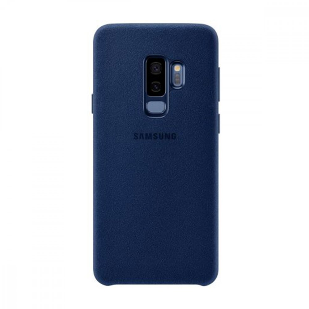 Калъф Оригинал Samsung Galaxy S9 Plus EF-XG965ALEGUS Alcantara Cover Blue