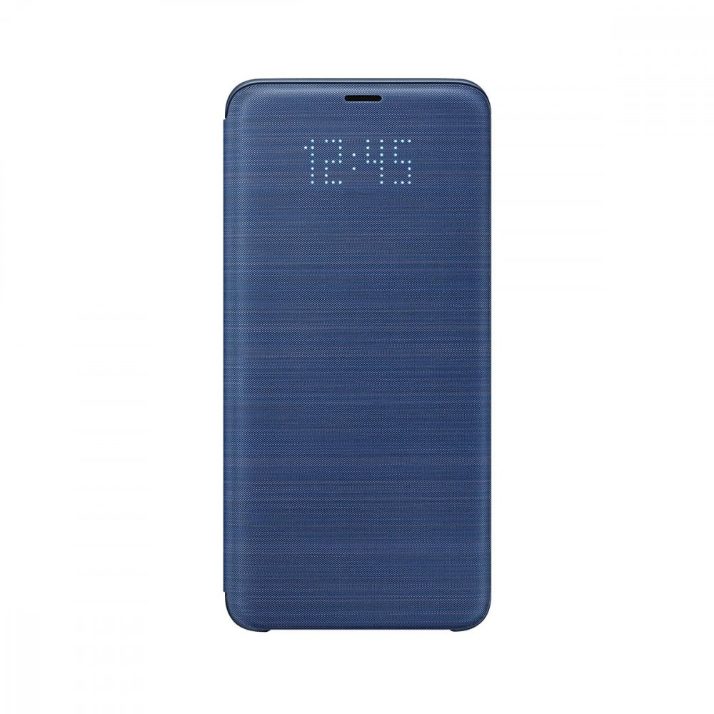 Калъф Оригинал Samsung Galaxy S9 EF-NG960PLEG Led View Cover Blue