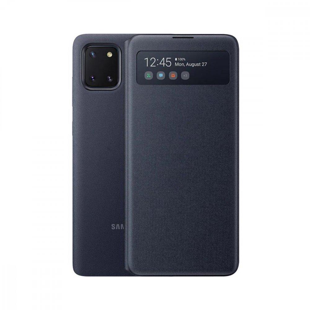 Калъф Оригинал Samsung Galaxy Note 10 Lite EF-EN770PBEGEU View Wallet, Black