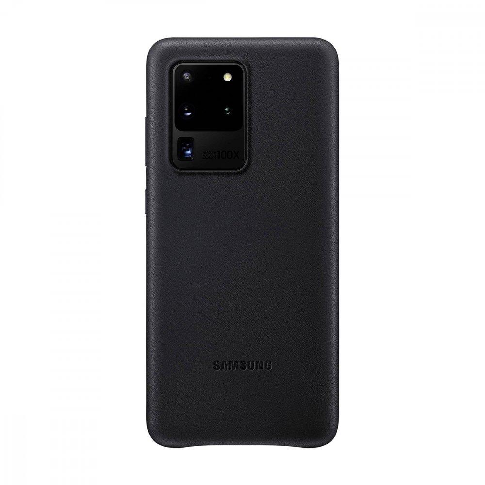Калъф Оригинал Samsung Galaxy S20 Ultra EF-VG988LBEGEU Leather Cover