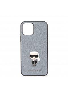 Калъф Karl Lagerfeld за Apple iPhone 12/12 Pro Gray - Аксесоари