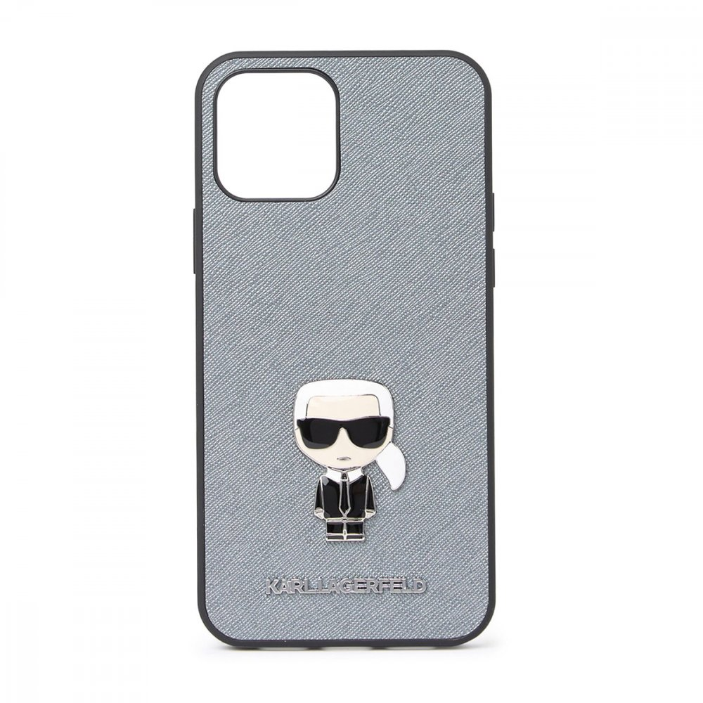 Калъф Karl Lagerfeld за Apple iPhone 12 Pro Max Gray