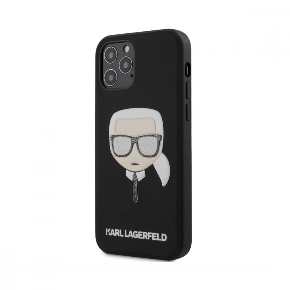 Калъф Karl Lagerfeld за Apple iPhone 12/12 Pro Black