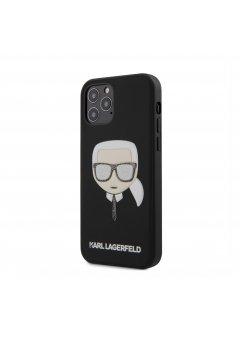Калъф Karl Lagerfeld за Apple iPhone 12/12 Pro Black - Аксесоари