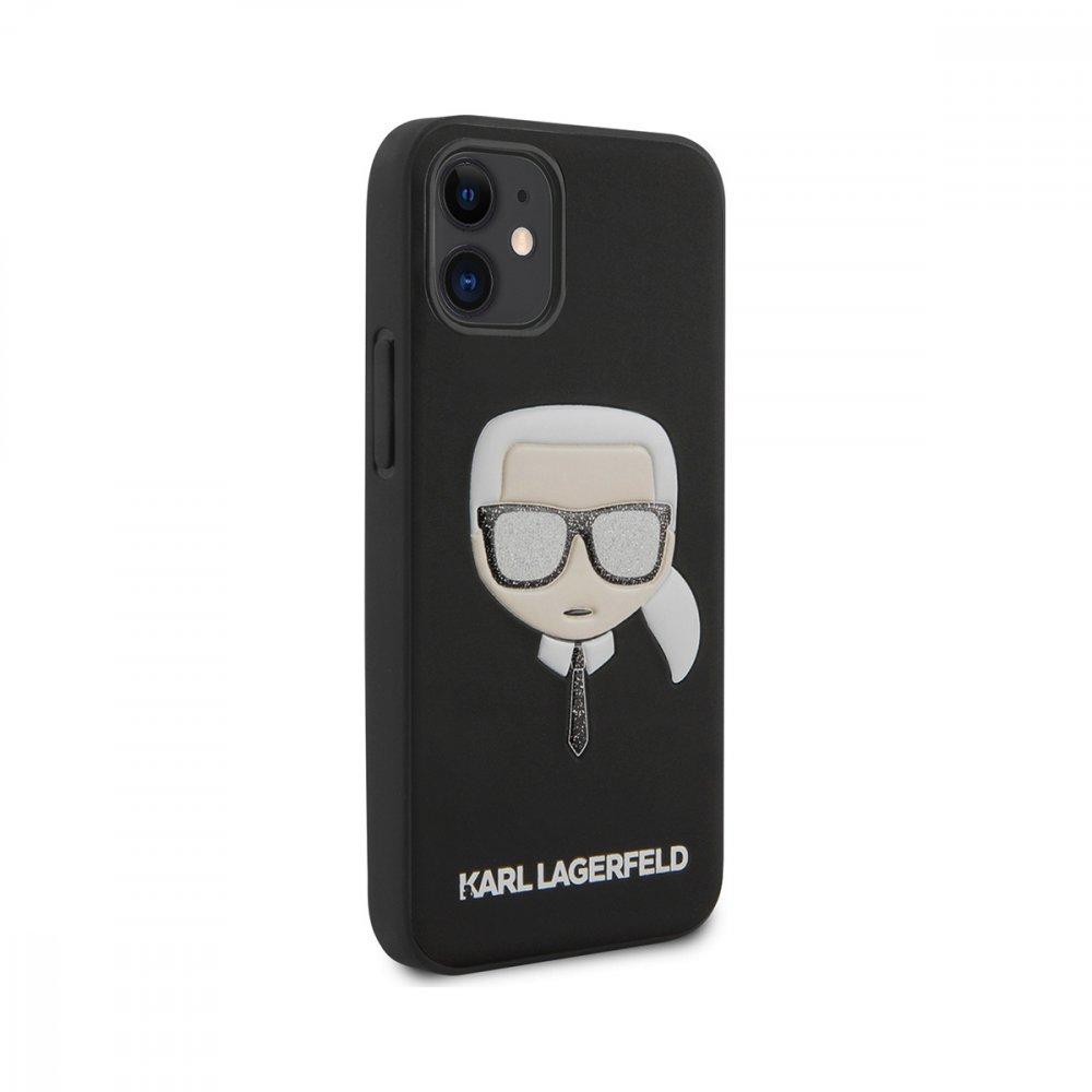 Калъф Karl Lagerfeld за Apple iPhone 12 Mini Black