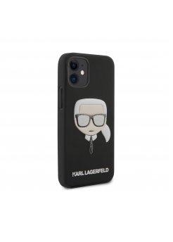 Калъф Karl Lagerfeld за Apple iPhone 12 Mini Black - Калъфи