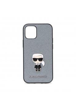 Калъф Karl Lagerfeld за Apple iPhone 12 Mini Gray -