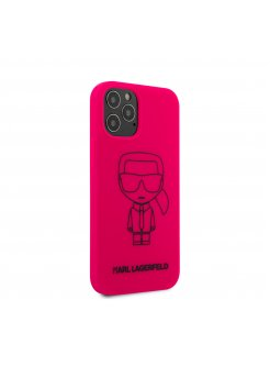 Калъф Karl Lagerfeld за Apple iPhone 12/12 Pro Pink - Аксесоари