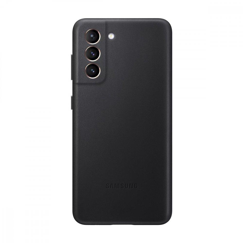 Калъф Оригинал Samsung Galaxy S21 Plus EF-VG996LBE Leather Cover