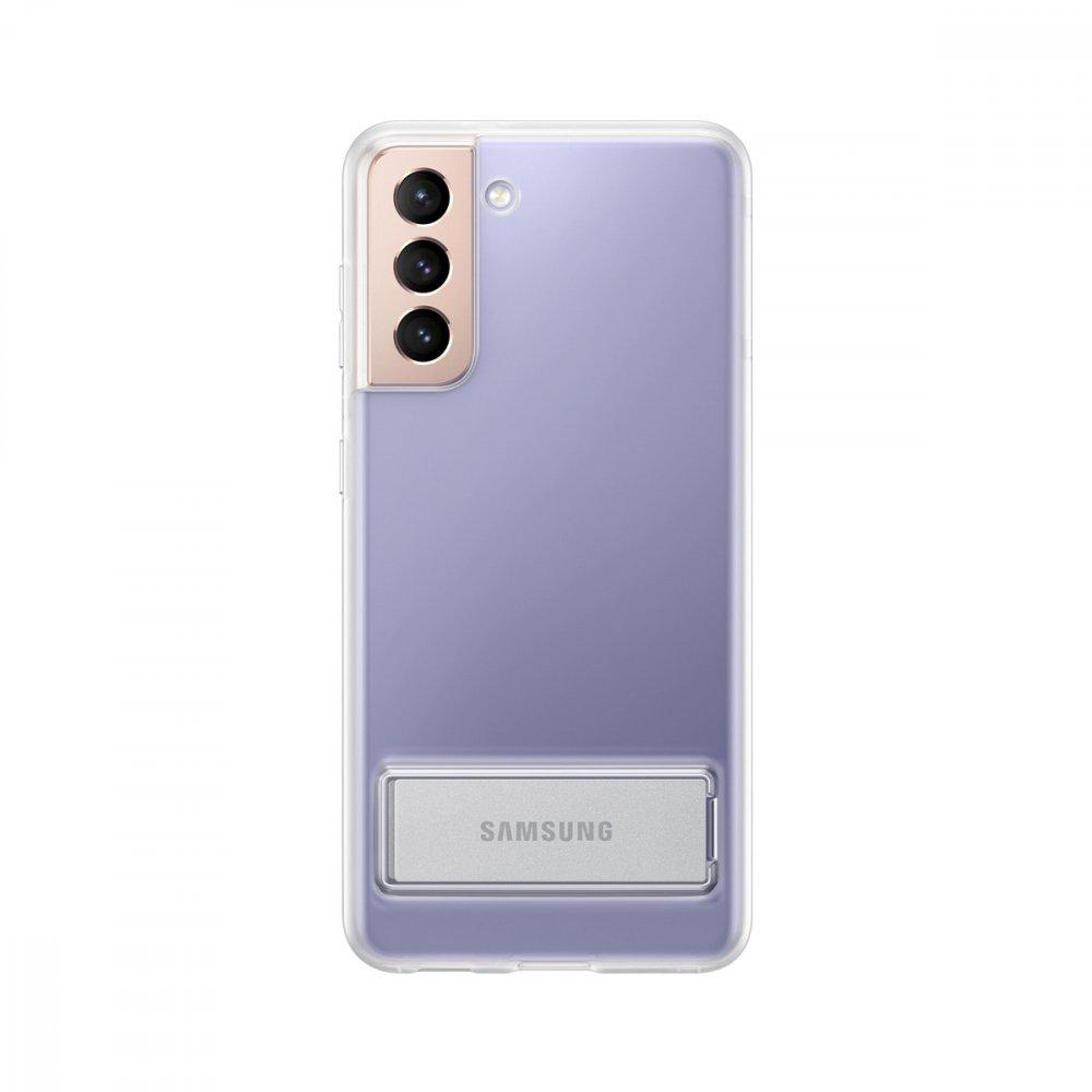 Калъф Оригинал Samsung Galaxy S21 EF-JG991CTE Clear Standing Cover