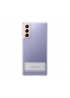 Калъф Оригинал Samsung Galaxy S21 EF-JG991CTE Clear Standing Cover - Аксесоари