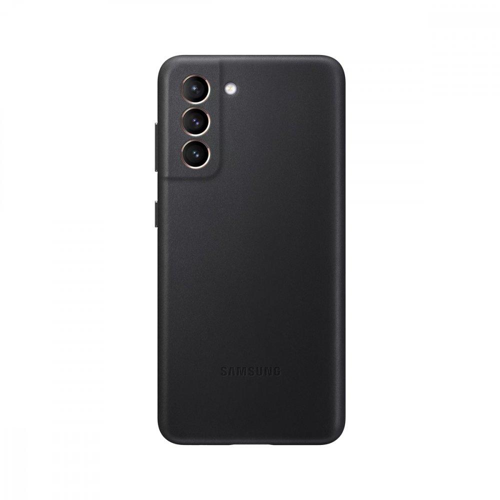 Калъф Оригинал Samsung Galaxy S21 EF-VG991LBE Leather Cover