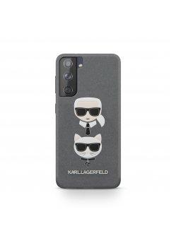 Калъф Karl Lagerfeld за Samsung Galaxy S21 Gray - Аксесоари