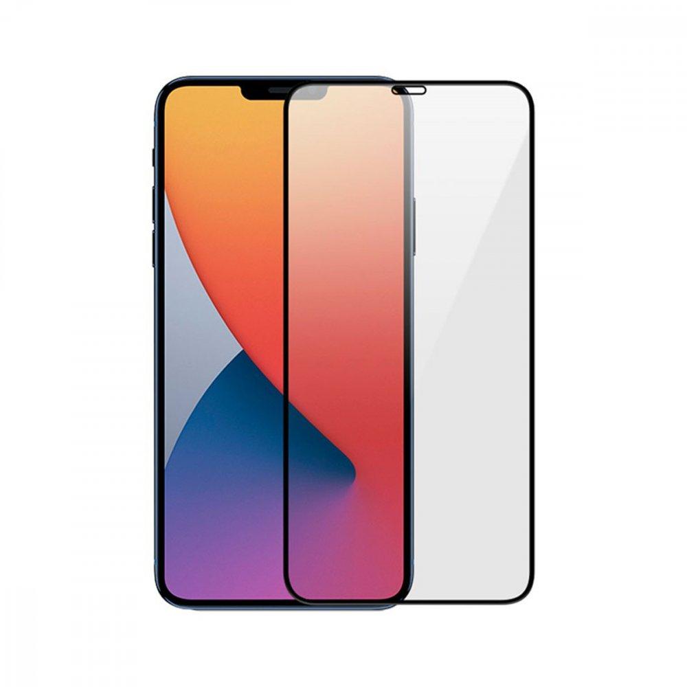 Стъклен протектор Apple iPhone 12/12 Pro 3D Full Cover Black