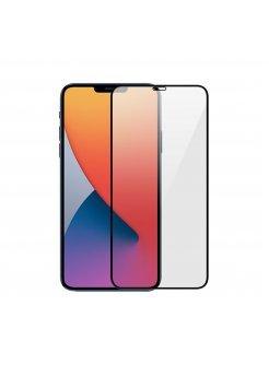Стъклен протектор Apple iPhone 12/12 Pro 3D Full Cover Black - Стъклени протектори