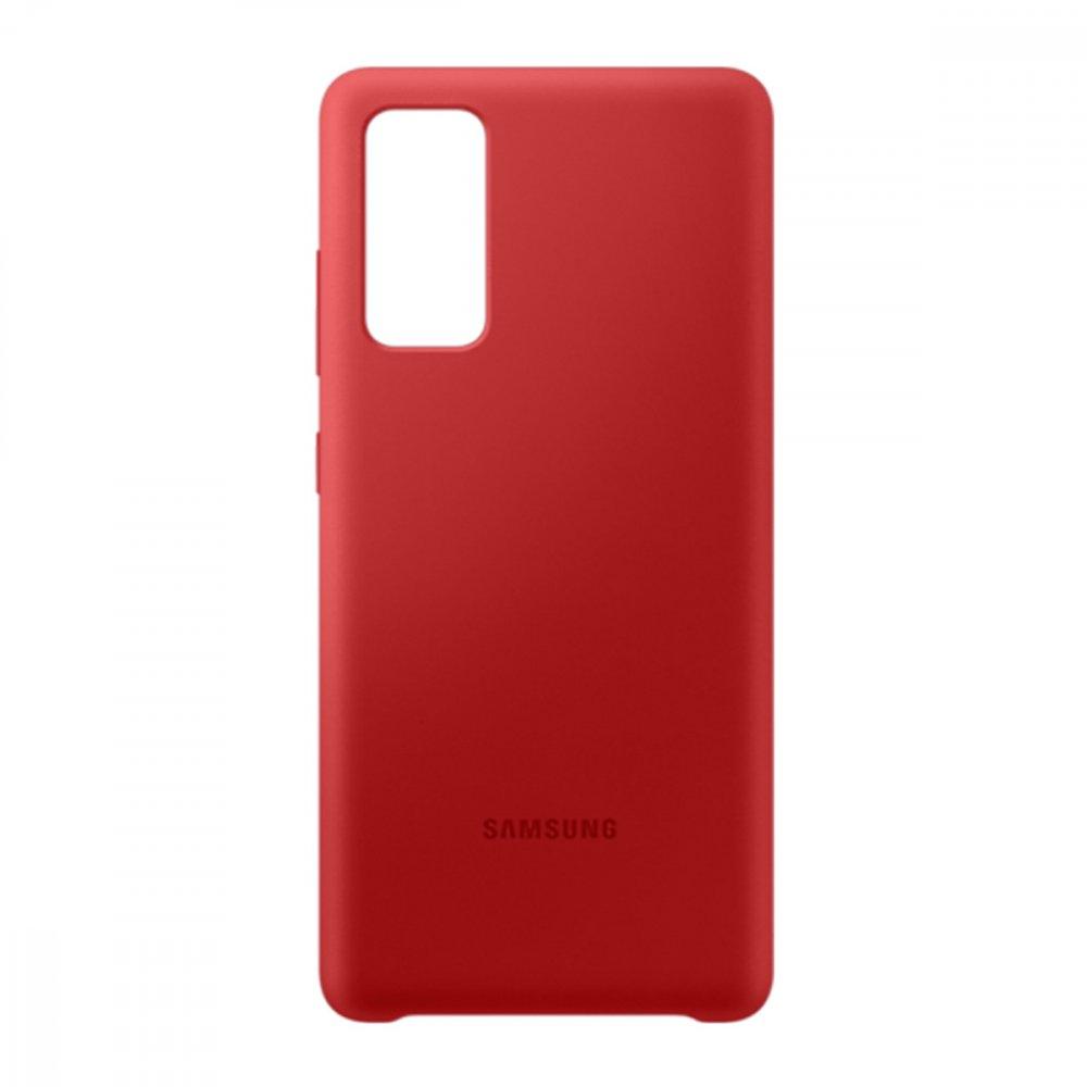 Калъф Оригинал Samsung Galaxy S20 FE EF-PG780TRE Silicone Cover Red