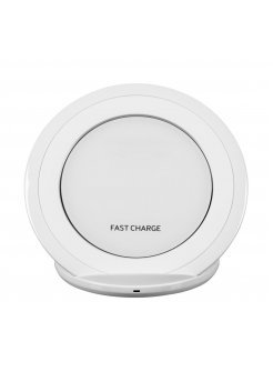 Wireless зарядно Fast Charge White
