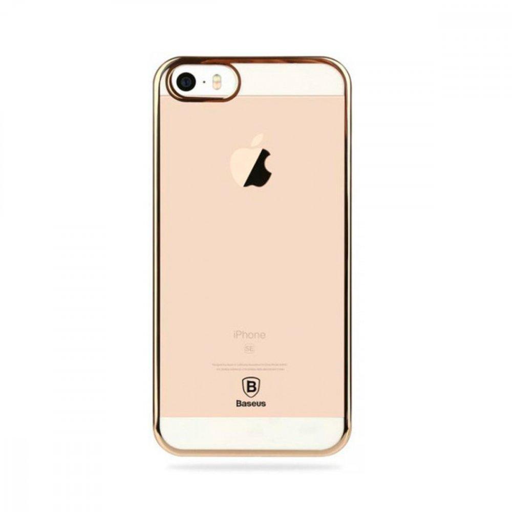 Калъф Apple iPhone 5/5S/SE Baseus Glitter Case Gold