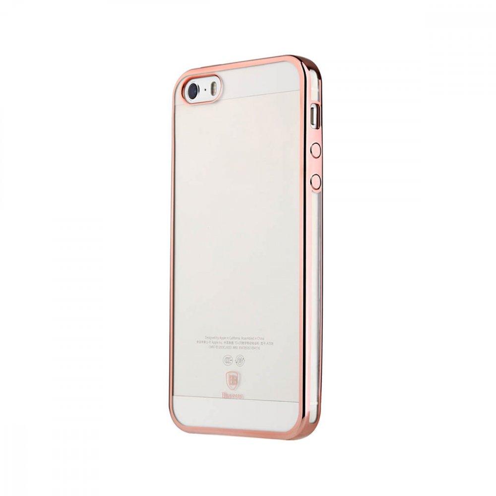 Калъф Apple iPhone 5/5S/SE Baseus Glitter Case Pink