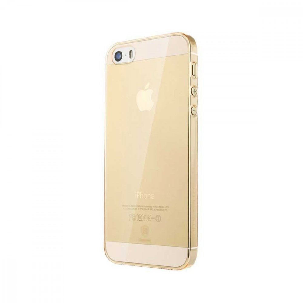 Калъф Apple iPhone 5/5S/SE Baseus Sky Case Gold