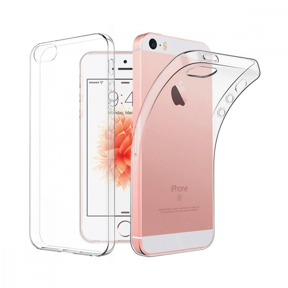 Калъф Apple iPhone 5/5S/SE X-Level AntiSlip White