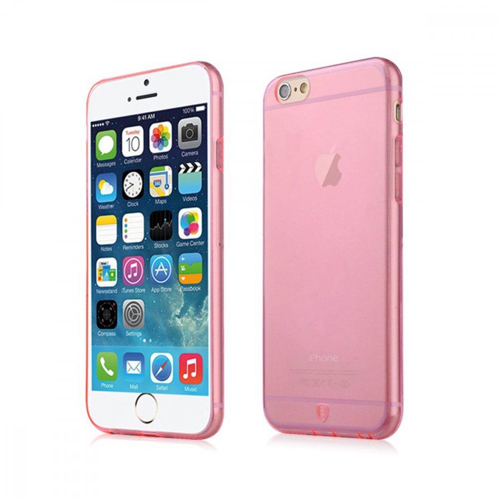Калъф Apple iPhone 6/6S Baseus Simple Pink