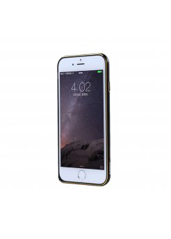 Калъф Bumper Apple iPhone 6/6S Remax Halo Series Black/Gold