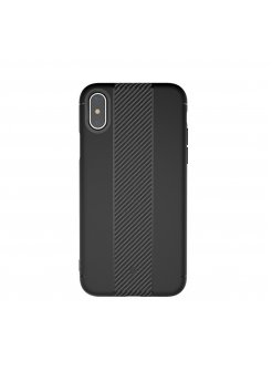 Калъф Apple iPhone X/XS Totu Soft Case Black