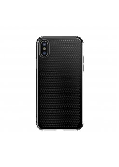 Калъф Apple iPhone X/XS Small Hole Case Black