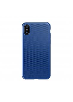Калъф Apple iPhone X/XS Small Hole Case Blue