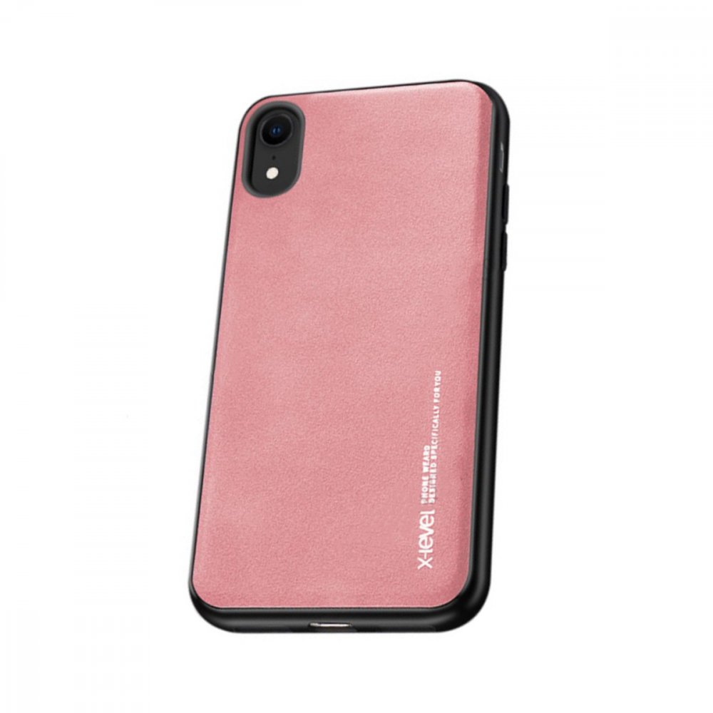 Калъф Apple iPhone XR X-Level Exquisite Case Pink
