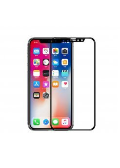Стъклен протектор Apple iPhone X/XS 3D Full Cover Black