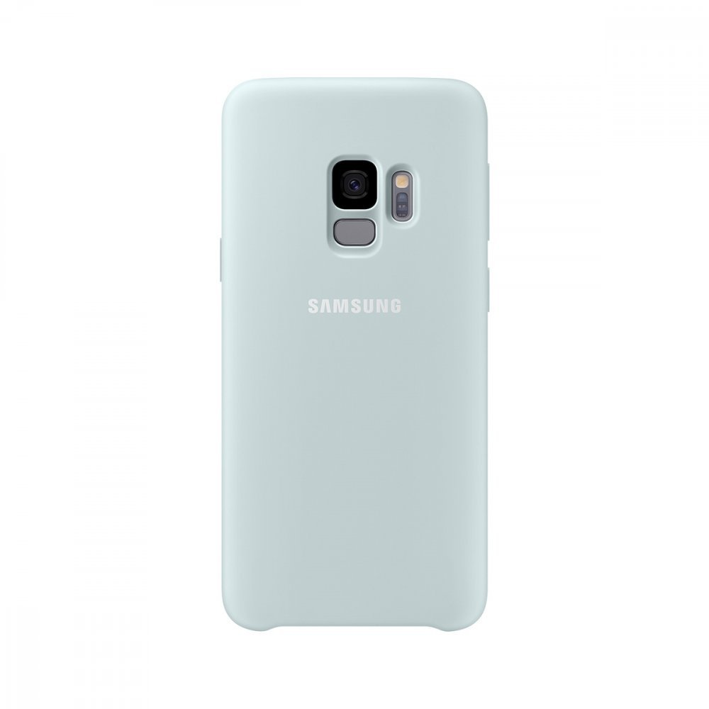 Калъф Оригинал Samsung Galaxy S9 EF-PG965 Silicone Cover Blue