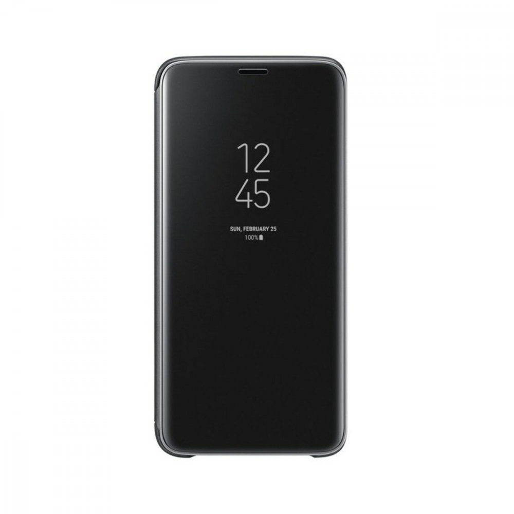 Калъф Оригинал Samsung Galaxy S9 EF-ZG960 Clear View Standing Cover Black