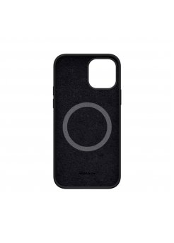Калъф Silicone Case MagSafe за Apple iPhone 12/12 Pro Black - Аксесоари