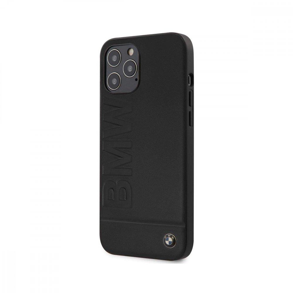 Калъф кожен за Apple iPhone 12/12 Pro BMW Black