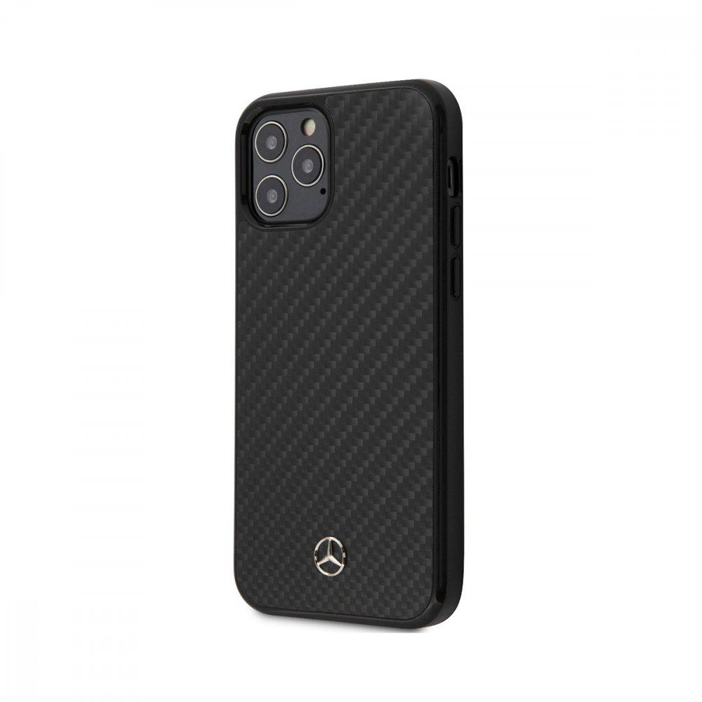 Калъф кожен за Apple iPhone 12/12 Pro Mercedes Black