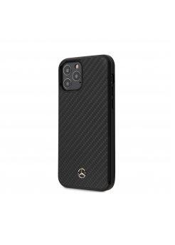 Калъф кожен за Apple iPhone 12/12 Pro Mercedes Black - Аксесоари