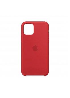 Калъф Silicone Case за Apple iPhone 11 Red - Аксесоари